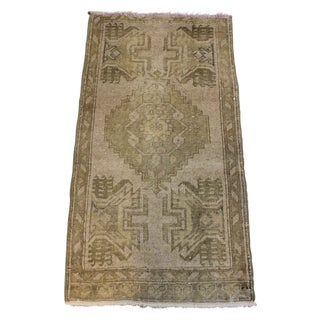 "Anatolian Vintage Doormat Rug 1'6"" X 3'2"""