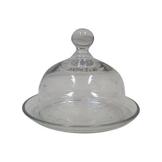 Blown Crystal Cheese Dome