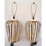 Image of Vintage Sunset Cosco Lava Drip Lamps - A Pair