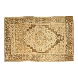 "Vintage Oushak Carpet - 6'2"" x 9'4"""