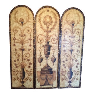 Grecian Hanging Wall Screen
