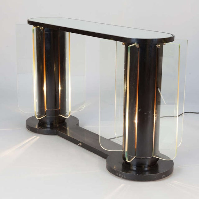 French Art Deco Light-Up Console - Image 3 of 5
