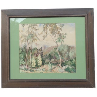 Florence Lusk Tompkins California Landscape Painting