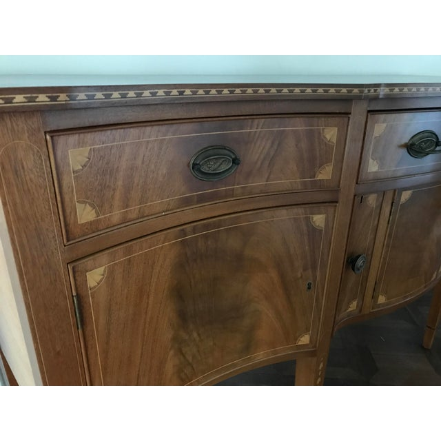 American Classical Vintage China Cabinet / Sideboard - Image 8 of 8