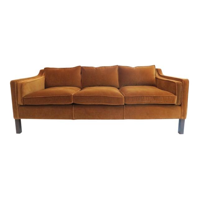 Custom Modern Thin Arm Sofa - Image 1 of 8