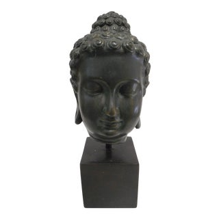 Buddha Bust on Stand