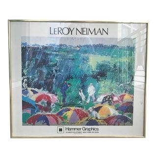 1973 LeRoy Neiman Framed Augusta Poster