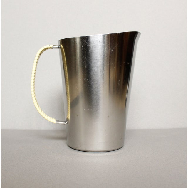 Image of Gabis Stainless Steel Pitcher With Wrapped Handle