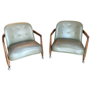 Edward Wormley-Style Drexel Chairs - A Pair