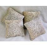 Image of Cheetah Cowhide & Mud Cloth Pillows - Set of 4