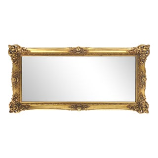 Gold Gilt Wood Framed Mirror