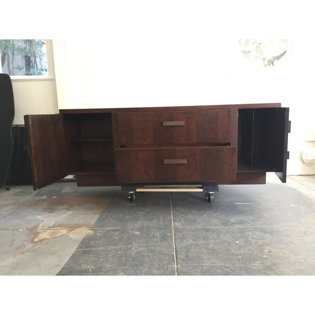Wood Console Table - Image 6 of 6