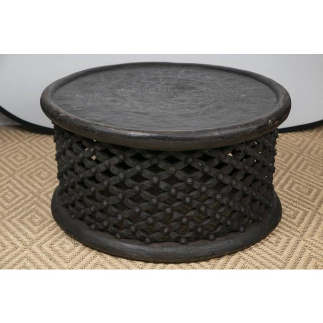 Image of Hand-Carved African Cameroon Cocktail Table, Large