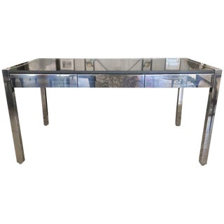 Mid-Century Chrome & Granite Desk