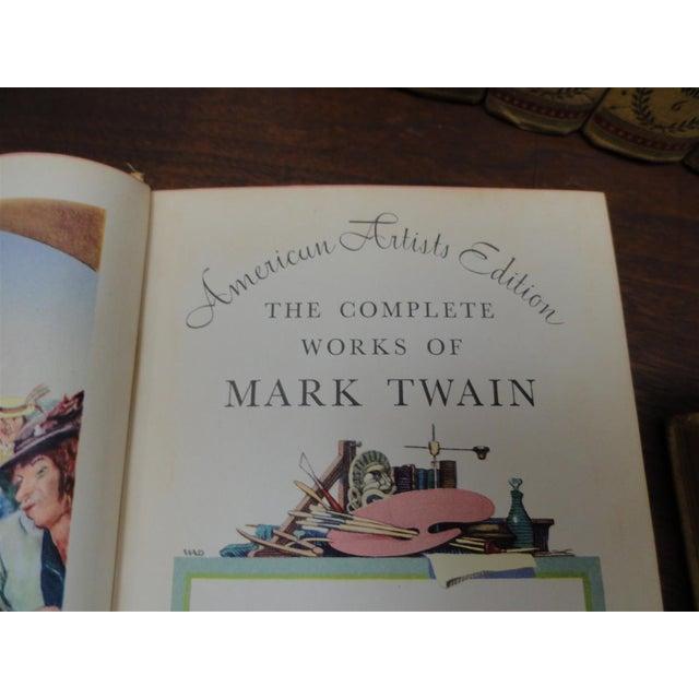 Image of Vintage Books - Works of Mark Twain in 24 Volumes