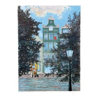 Henri Westel - La Lettre Lithograph