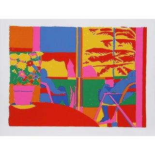 "John Grillo, ""Kaleidoscope Ix,"" Serigraph"