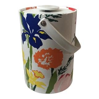 Vintage Sigma Floral Ice Bucket