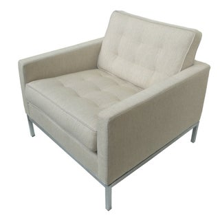 Florence Knoll Ivory  Club Chair