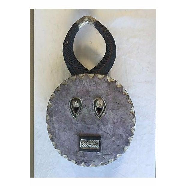 Antique African Baule Goli Horned Mask - Image 3 of 8