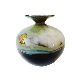 American Art Blown Glass Vase