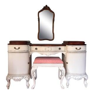 Antique Louis XV Make-Up Vanity