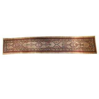 "Antique Serab Rug Runner - 3'6"" x 18'6"""