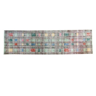 "Distressed Oushak Runner - 2'9"" X 10'1"""
