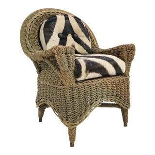Forsyth Mini Wicker Armchair