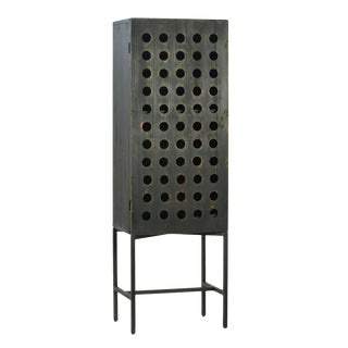 Industrial Wood Cabinet