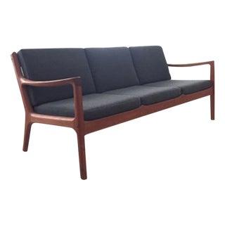 Ole Wanscher Teak 3-Seat Sofa