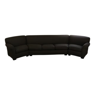 Addison Interiors Brown Wedge Sectional Sofa - 3 Pc.