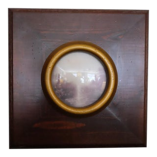 Picturesque Turner Scene With Convex Glass