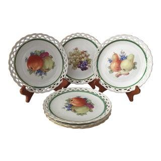 Vintage Winterling Bavaria Lace Dessert Plates - Set of 6