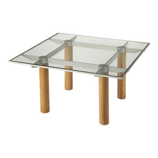 Butler Specialty Cirrus Glass & Metal Coffee Table