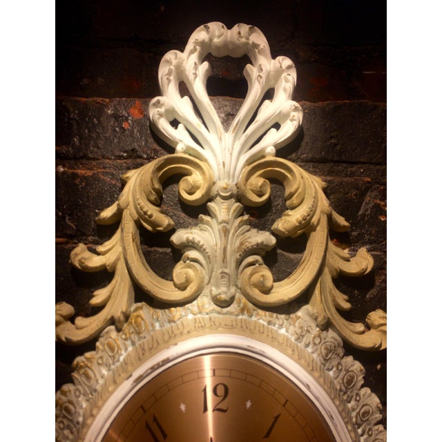 Wall Clock and Candle Sconces - Set of 3 - Image 5 of 7
