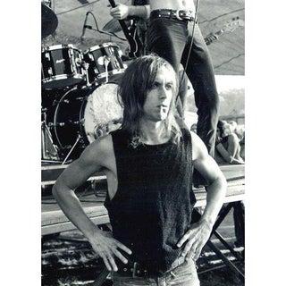 Original Signed Iggy Pop Photograph