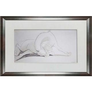Pablo Picasso Lithograph, Guernica Horse