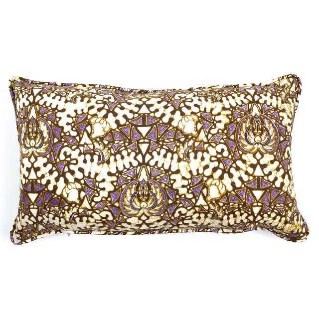Vintage Batik Pillow - Image 1 of 2