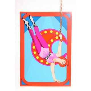 1981 Bob Pardo Trapeze Print
