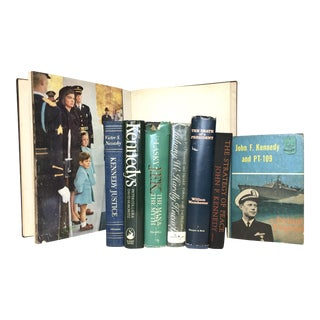 Vintage John F. Kennedy Mini Library - Set of 8