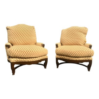 A. Rudin Bergere Chairs - A Pair
