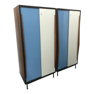 Wardrobe Cabinets by Willy Van Der Meeren for Tubax