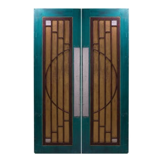 Art-Deco Style Doors from Goodspeed Opera House - A Pair
