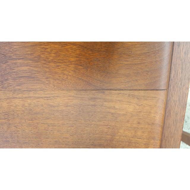 Mid-Century Walnut Gunlocke Chairs - Pair - Image 10 of 11