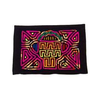 Abstract Textile Pillowcase - Handmade in Panama