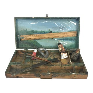 Vintage Painters Supply Box