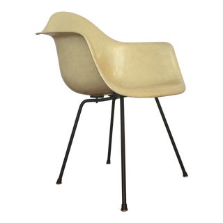Eames for Herman Miller Yellow Shell Chair