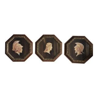 Mid-Century Classical Silkscreen Prints - Set of 3