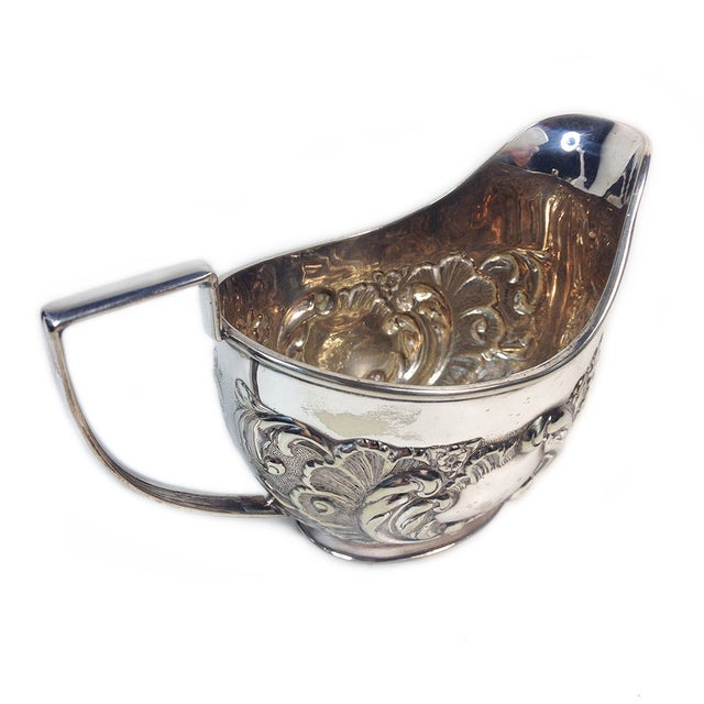 Vintage Sheffield Silverplate Sugar & Creamer - Image 3 of 5